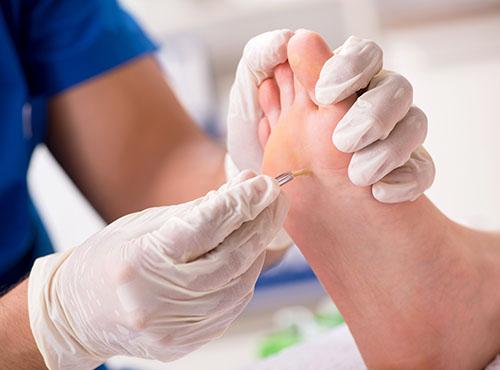 medisch pedicure reumatische diabetische voet